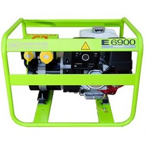 Pramac-E6900-6.43kw-230V-110V-Petrol-Generator-Recoil-Start