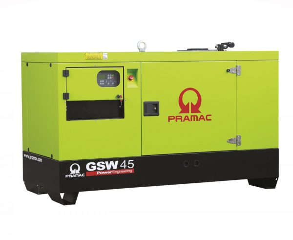 Pramac-GSW45P-Three-Phase-40kva-Generator