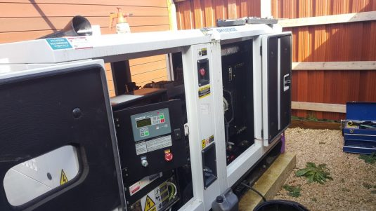 diesel generator servicing