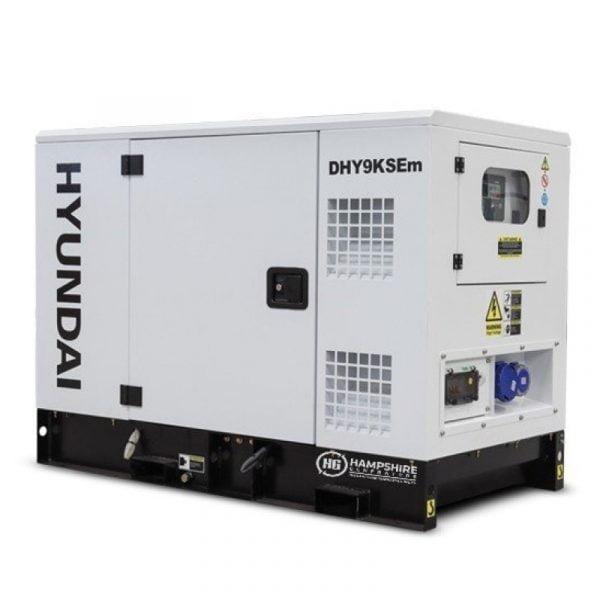 Hyundai DHY9KSEm 11kVA Single Phase Diesel Generator 1