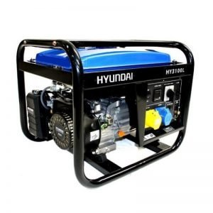 Hyundai HY3100L 2.8kW Open Frame Petrol Generator