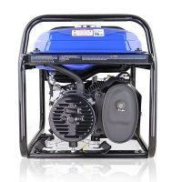 Hyundai HY3800L 2 3.2kW 4kVA Recoil Start Site Petrol Generator Back View