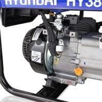Hyundai HY3800L 2 3.2kW 4kVA Recoil Start Site Petrol Generator Oil Filler