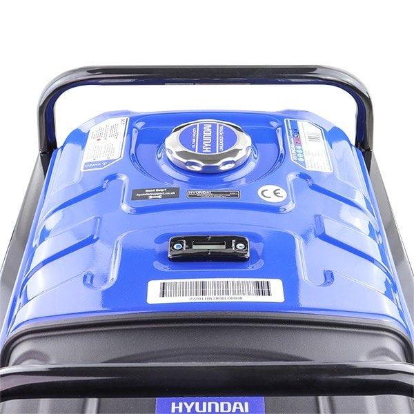 Hyundai HY3800L 2 3.2kW 4kVA Recoil Start Site Petrol Generator Petrol Tank