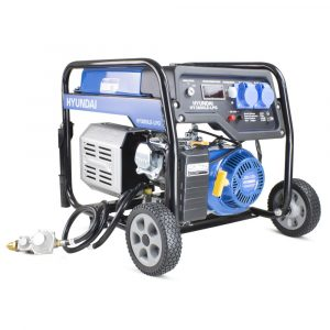 Hyundai HY3800LE LPG Dual Fuel Generator
