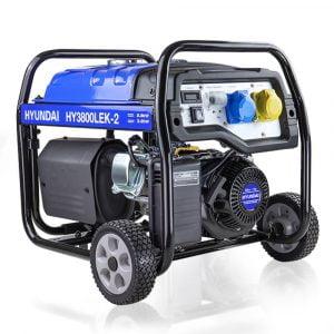 Hyundai HY3800LEK 2 3 Petrol Generator