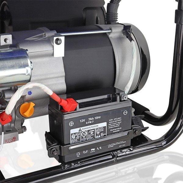 Hyundai HY3800LEK 2 3.2kW 4.00kVA Electric Start Site Petrol Generator Battrey