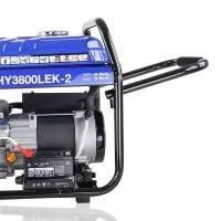 Hyundai HY3800LEK 2 3.2kW 4.00kVA Electric Start Site Petrol Generator Handels