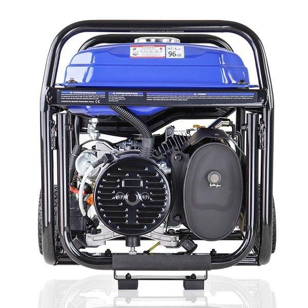 Hyundai HY3800LEK 2 3.2kW 4.00kVA Electric Start Site Petrol Generator Rear View