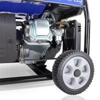 Hyundai HY3800LEK 2 3.2kW 4.00kVA Electric Start Site Petrol Generator Wheels