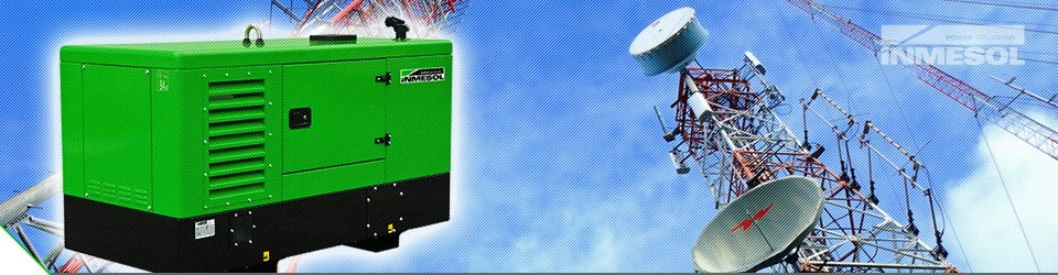 inmesol industrial generator range