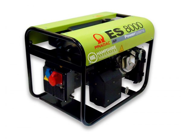 PRAMAC-ES8000-6KW-400V-AVR-THREE-PHASE-LONG-RUN-PETROL-GENERATOR-RECOIL-STAR