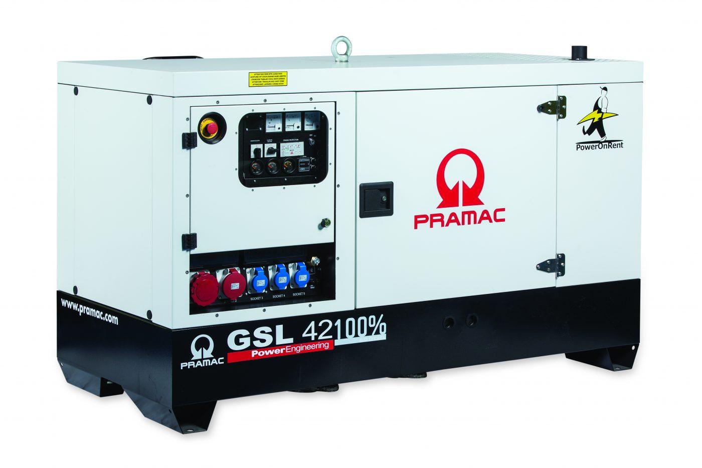 Pramac Rental Generators