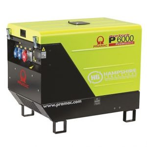 Pramac-P6000-400V-AVR-CONN-3-Phase-Generator