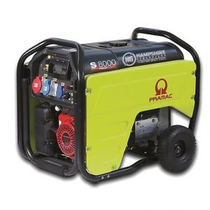 Pramac-S8000-6.6kw-400V-AVR-CONN-Three-Phase-Long-Run-Petrol-Generator-Electric-Start
