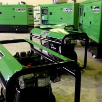 Gensets of different powers and ranges