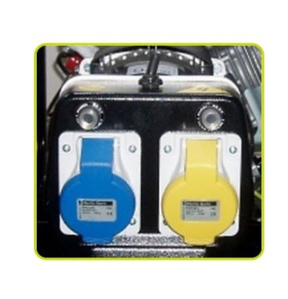 Pramac-PX3600-Petrol-Generator-Socket-View