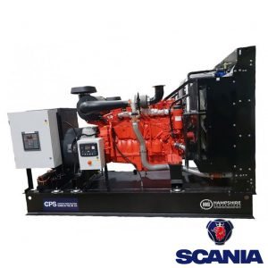 300kVA-Open-Diesel-Generator-330kVA-Standby-Scania-AS300