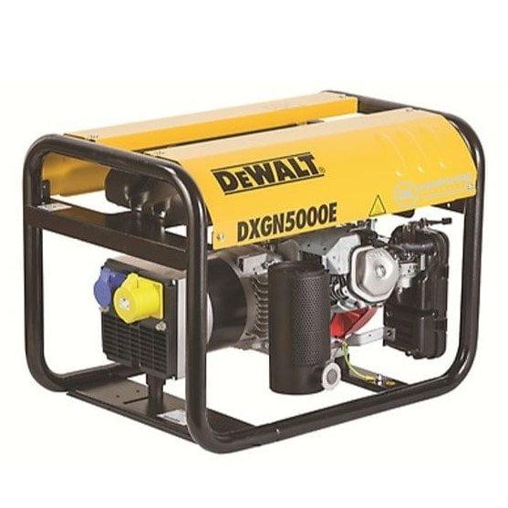 DeWalt-DXGN5000E-4.9-kVA-4.4-KW-230V-110V-Petrol-Generator