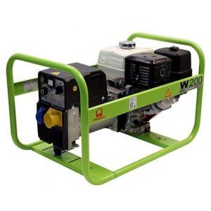 Pramac-W200-4.3kVA-200A-Petrol-Welder-Generator-Recoil-Start
