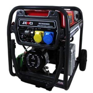 Senci-SC6000C-5.5kW-Electric-Start-Frame-Mounted-Diesel-Generator