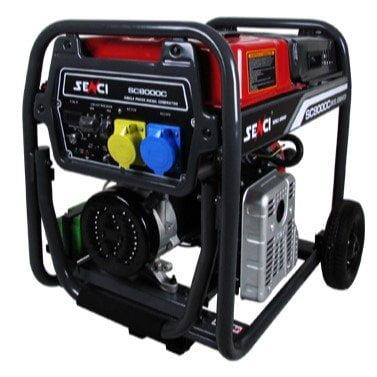 Senci-SC8000C-7kW-Electric-Start-Frame-Mounted-Diesel-Generator.