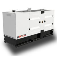 140kVA Baudouin Powered Diesel Generator XL140B Right View