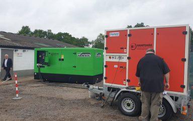 250kVA Diesel Generator Testing
