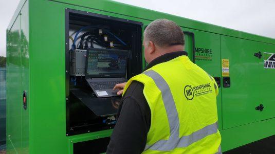 250kVA generator control system settings
