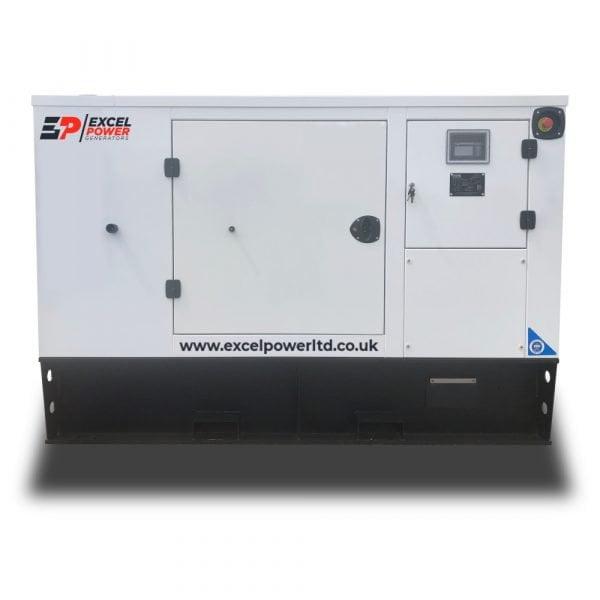 30kVA Baudouin Powered Diesel Generator XL33B Face View