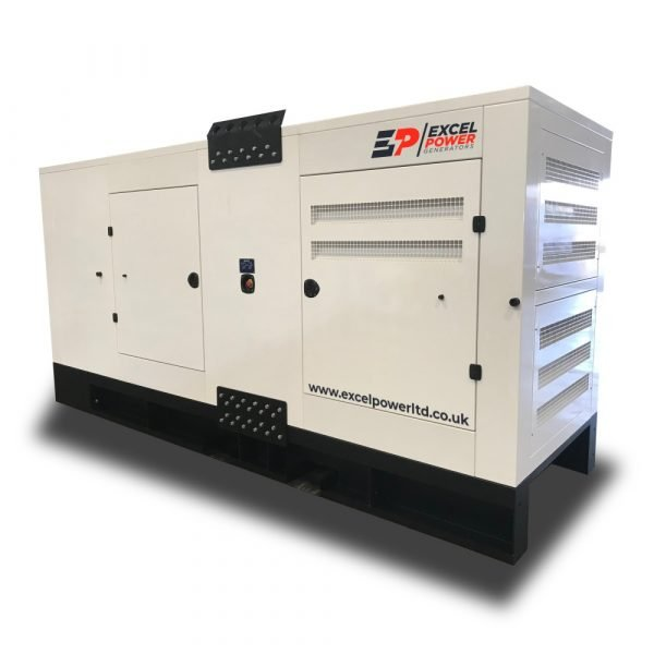 500kVA Baudouin Powered Diesel Generator XL500B Left View