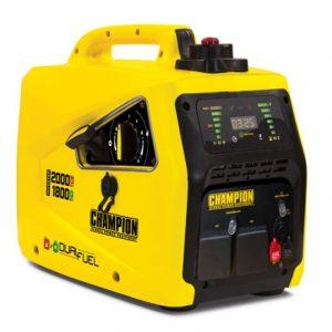 Champion 82001i E DF 2000W Dual Fuel Inverter Generator 1