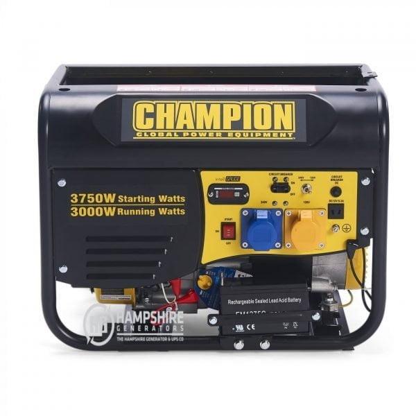 Champion CPG4000E1 3500W Open Frame Petrol Generator