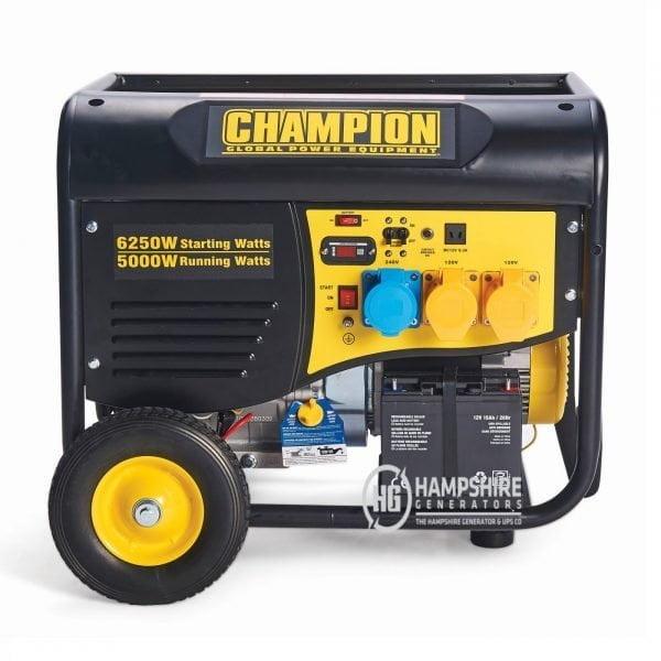 Champion CPG6500 5500W Open Frame Petrol Generator