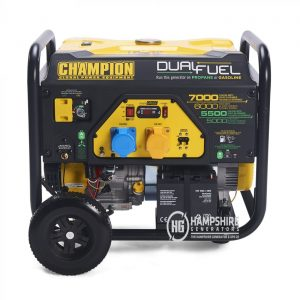 Champion CPG7500E2 DF 7000W Open Frame Dual Fuel Generator