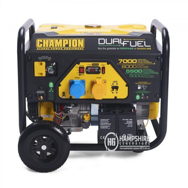 Champion CPG7500E2 DF 7000W Open Frame Dual Fuel Generator