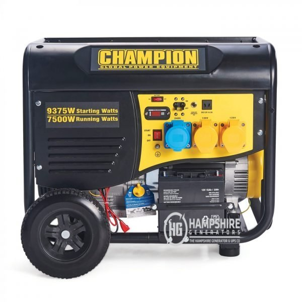 Champion CPG9000E2 8000W Open Frame Petrol Generator