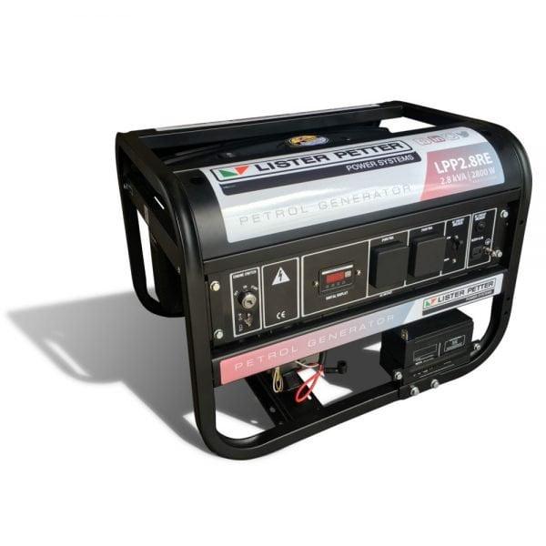 Lister-Petter-LPP6.0RE-6KW-Open-Frame-Petrol-Generator