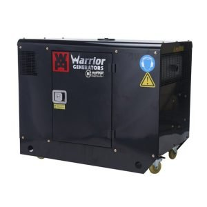 Warrior-LDG12S-11kW-Silent-V-Twin-Diesel-Generator