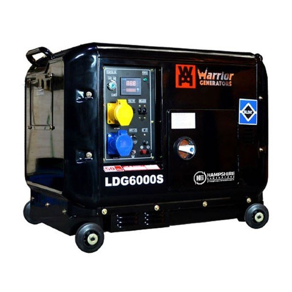 Warrior-LDG6000S-5000W-Silent-Diesel-Generator