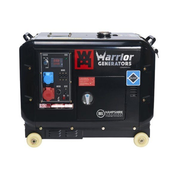 Warrior-LDG6000S3-6kW-Three-Phase-Silent-Diesel-Generator
