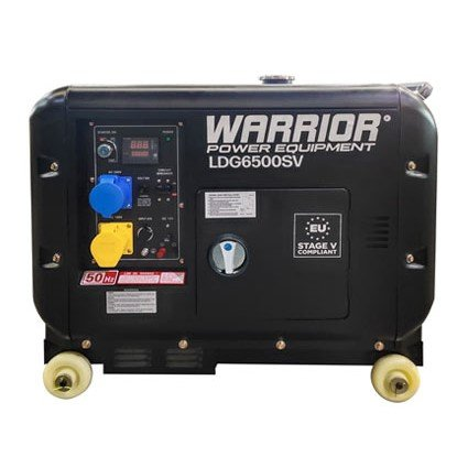 Warrior-LDG6500SV-5500-Watts-Diesel-Generator