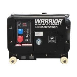 Warrior-LDG6500SV3WRC-5.5KW-Diesel-Generator-3-Phase-Wireless-Remote