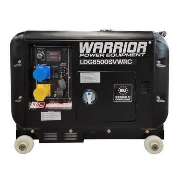 Warrior LDG6500SVWRC 5500 Watts Diesel Generator Wireless Remote 1