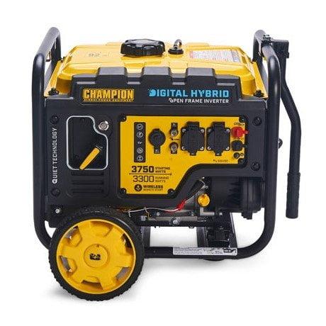 Champion-CPG4000HDY-3500W-Open-Frame-Petrol-Inverter-Generator