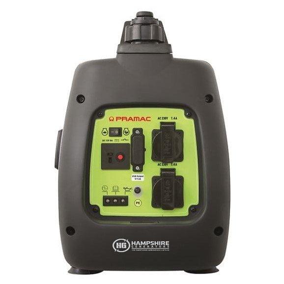 Pramac-PMi-2000-2000W-Petrol-Inverter-Generator-Socket-View