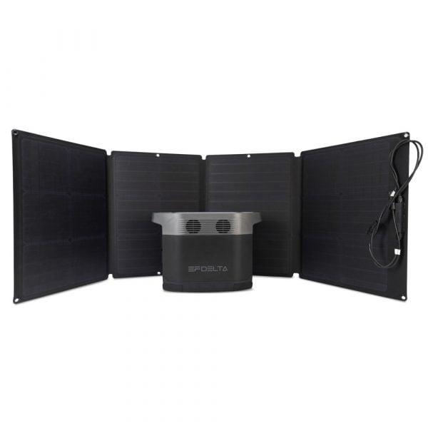 EcoFlow 110W Solar Panel With EcoFlow Delta