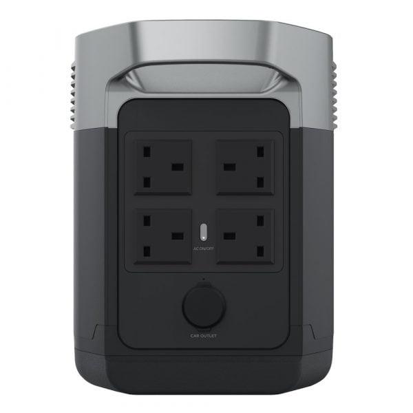 EcoFlow Delta Portable Power Station AC Sockets