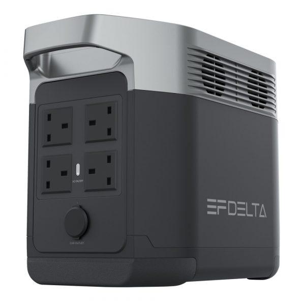 EcoFlow Delta Portable Power Station Rear View Right