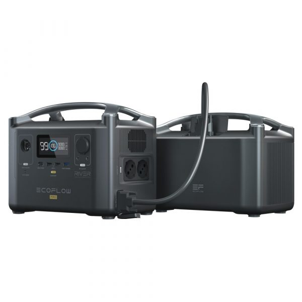EcoFlow River Pro Portable Power Station With Extra Battery